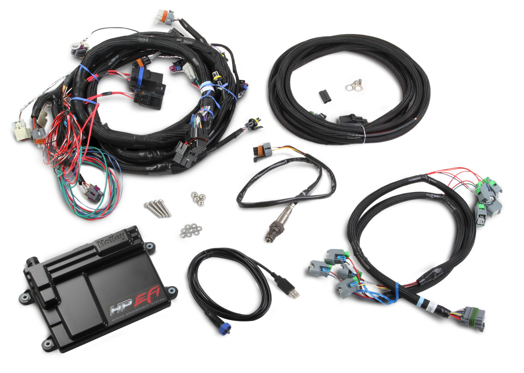 holley hp efi ecu harness kit ls2 3 7 mullenix racing. Black Bedroom Furniture Sets. Home Design Ideas