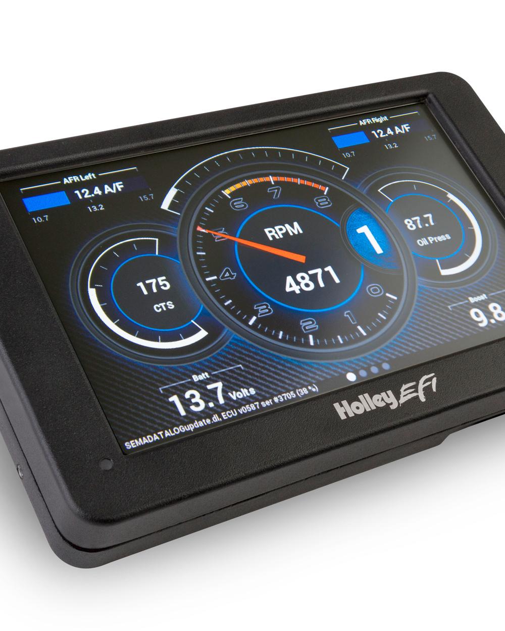 Holley Efi Digital Dash Mullenix Racing Engines