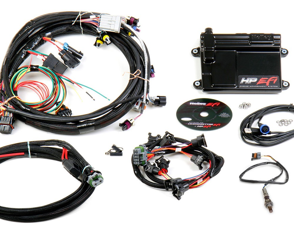 Holley Ls1 Wiring Harness : Holley hp efi ecu harness kits ls mullenix racing