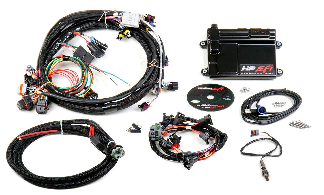 holley hp efi ecu harness kits ls1 ls6 mullenix racing engines rh mullenixracingengines com Chevy Wiring Harness Fuel Injector Wiring Harness