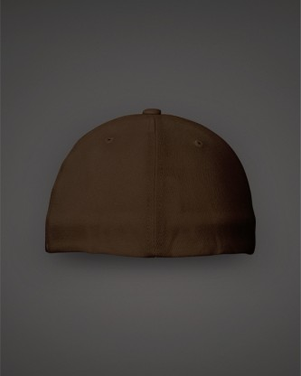 Brown-Hat-Fitted-Back