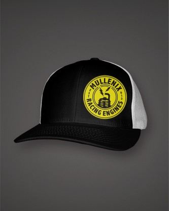 BlackWhite-Hat-Trucker