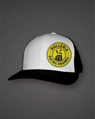 WhiteBlack-Hat-Trucker