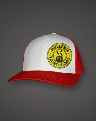 WhiteRed-Hat-Trucker